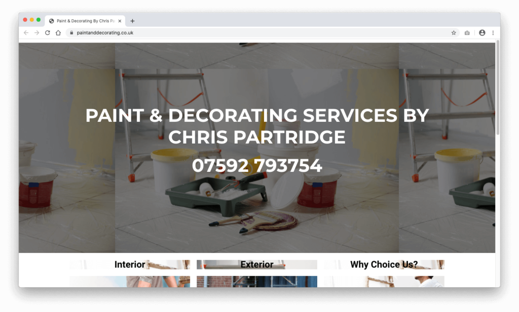 Chris Partridge Paint & Decorating