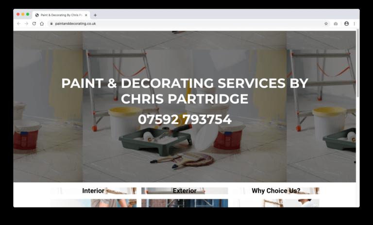 Chris Partridge Paint & Decorating