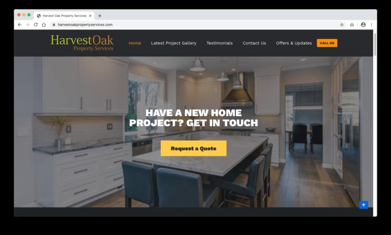 Harvest Oak Website