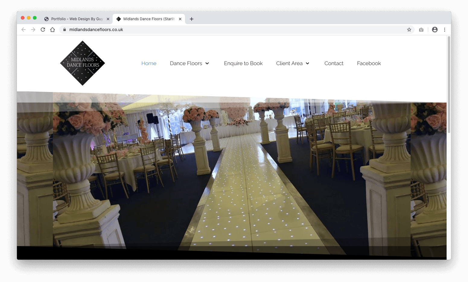 Midlands Dance Floors Website | Hire Starlit Dance Floor